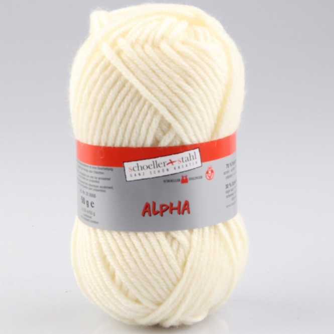 Alpha Wolle Schoeller Stahl