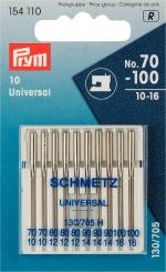 Nähmaschinennadeln universal 10-er Packung