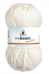 Myboshi Wolle No 1 191 weiß