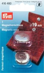 Magnet-Verschluss silberfarbig