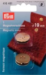 Magnet-Verschluss goldfarbig