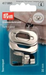 Drehverschluss für Taschen 35 x 20 mm