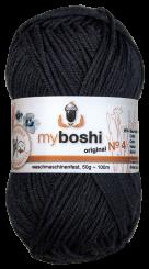 Myboshi Wolle No 4 496 schwarz
