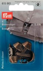 Bodennägel für Taschen 615901 altmessing
