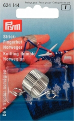Strickfingerhut Norweger aus Metall