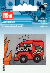 Applikation Patch Feuerwehr