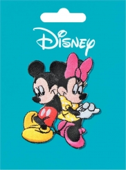 Applikation Mickey + Minnie