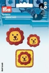 Applikation Löwengesicht