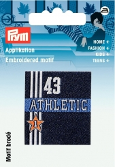 Applikation Label Athletic