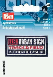 Applikation Label US URBAN SIGN