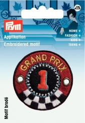 Applikation Patch Grand Prix