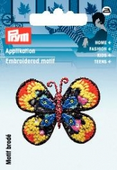 Applikation Schmetterling