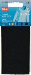 Flickstoff Baumwolle schwarz