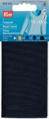 Flickstoff Baumwolle marine