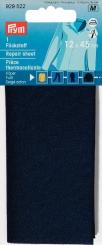 Flickstoff Köper blau
