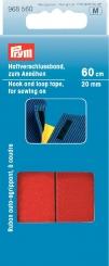 Haftverschlussband rot 60cm