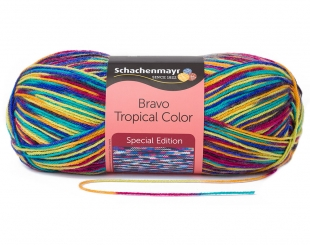Bravo Color Wolle Schachenmayr 2131 africa color