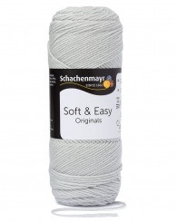 Soft & Easy Wolle Schachenmayr 100g-Knäuel 00090 silber