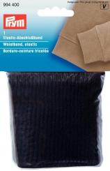 Elastic-Abschlussbund schwarz