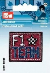 Applikation Patch F1 Team