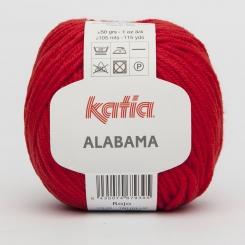Alabama Wolle von Katia 32 Rojo