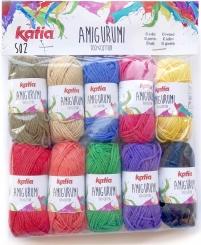 Amigurumi Wolle von Katia S02