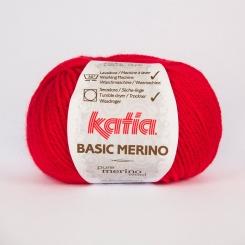 Basic Merino Wolle von Katia 04 Rojo