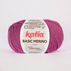 Basic Merino Wolle von Katia 42 Lila claro