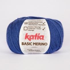 Basic Merino Wolle von Katia 45 Azul