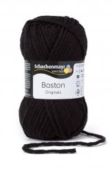 Boston Wolle Schachenmayr 99 schwarz