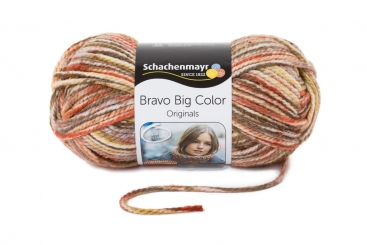 Bravo Big Color Wolle Schachenmayr 00126 karneol color