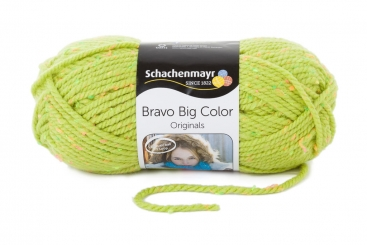 Bravo Big Color Wolle Schachenmayr 00371 anis tweed