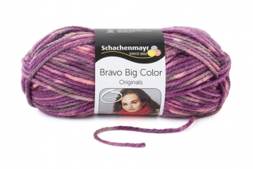 Bravo Big Color Wolle Schachenmayr 00080 amethyst color