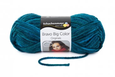 Bravo Big Color Wolle Schachenmayr 00087 aqua color