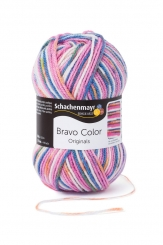 Bravo Color Wolle Schachenmayr 2117 candy color