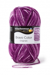 Bravo Color Wolle Schachenmayr 2112 violett denim