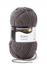 Bravo Wolle Schachenmayr 8319 mittelgrau meliert
