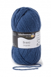 Bravo Wolle Schachenmayr 8340 kobalt