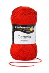 Catania Wolle Schachenmayr 115 signalrot