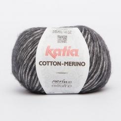 Cotton Merino Wolle von Katia 107 Gris oscuro