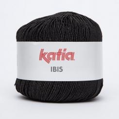 Ibis Wolle von Katia 81 Negro