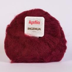 Ingenua Wolle von Katia 19 Burdeos