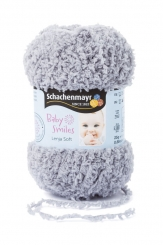 Baby Smiles Lenja Soft Wolle Schachenmayr 01090 grau