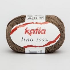 Lino 100% von Katia 17 Piedra
