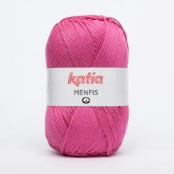 Menfis Wolle von Katia 100g-Knäuel 25 Fucsia