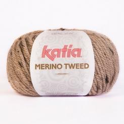 Merino Tweed Wolle von Katia 301 Beige