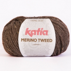 Merino Tweed Wolle von Katia 303 Visón
