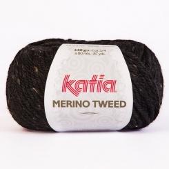 Merino Tweed Wolle von Katia 309 Negro