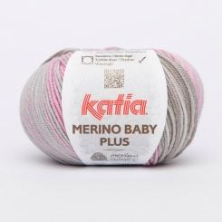 Merino Baby Plus Wolle von Katia 200 Rosas/Piedras
