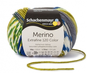Merino Extrafine Color 120 Wolle Schachenmayr